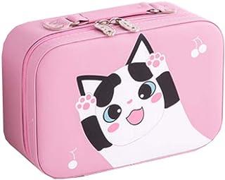 Makeup Bag,Organizer Bathroom Storage Cosmetic Bag,Jewelry Organizers,Pink