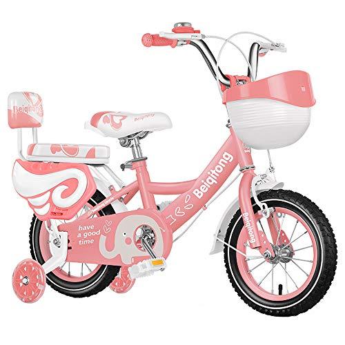 ZISITA Bicicleta Infantil Niño,Bicicleta de la Muchacha del Estilo Libre del niño...