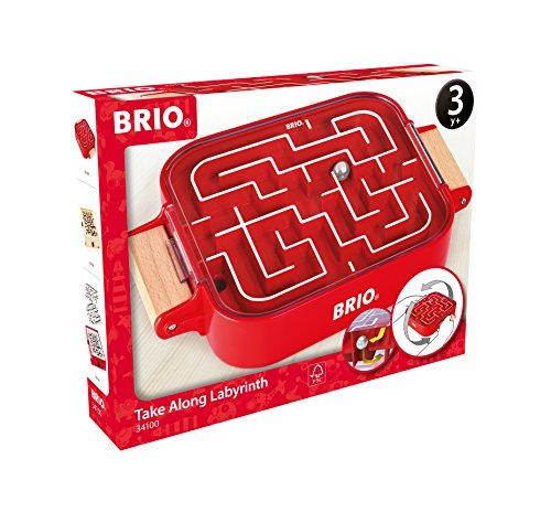 BRIO Spiele 34100 - Mitnehm-Labyrinth
