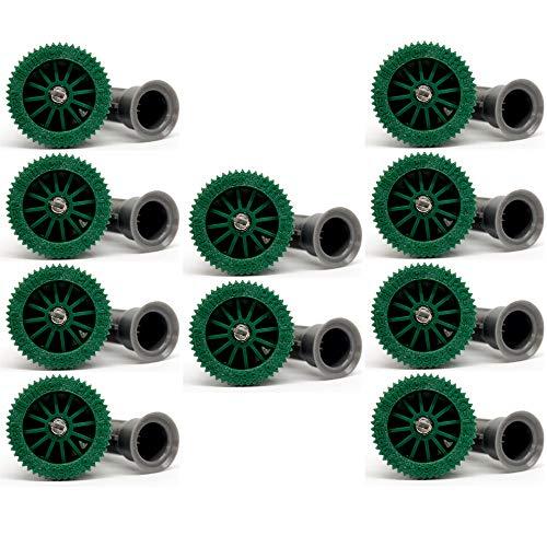 Diffusor-Düse für Bewässerungsdiffusor, Reichweite: 3,70 m, verstellbarer Bewässerungswinkel von 0 bis 360 °, Innengewinde, kompatibel mit Hunter, Rain Bird, Irritrol, Kain, Signature, 10 Stück
