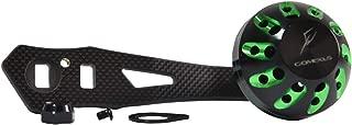 GOMEXUS Power Handle Compatible for Abu Garcia Revo SX Daiwa Tatula SV TW Quantum Smoke S3 PT Shimano Ocea Conquest 300 Baitcasting Reel Handle Repalcement Custom 8x5mm Carbon 75mm
