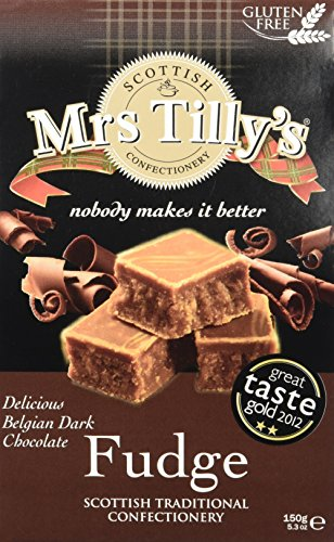 Mrs Tilly's Belgische Schokolade Scotitsh Fudge, 150 g