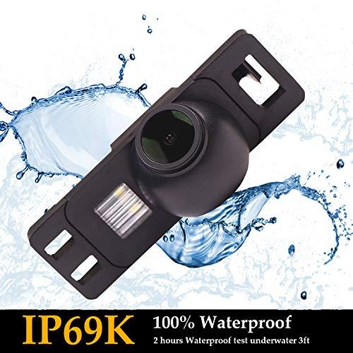 Upgraded Reversing Camera 1280x720p Camera Integrated in Number Plate Light License Rear View Backup camera for MG3 Citroen C2 C3 C4 C5 C6 C8 DS3 DS5 Sega Elysee C-Elysee C-Quatre C-Triomph