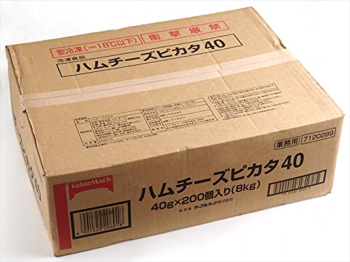 テーブルマーク ハムチーズピカタ60 P086 60g× 100 【冷凍】(2ケース)