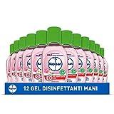 Napisan Gel Igienizzante Mani, Gel Disinfettante, Antibatterico, Confezione da 12 Gel, Gel Mani da 50 ml, Camomilla e Loto