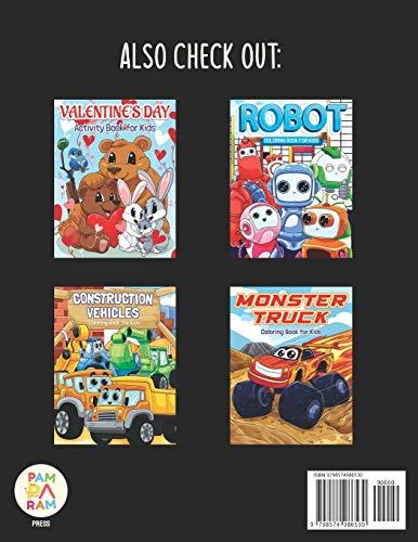 Fire Truck Coloring Book for Kids: Super Fun Fire Engine Trucks All Children Will Love!