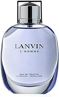 Lanvin L'Homme Eau de Toilette for Men, 100 ml