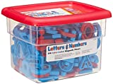 Educational Insights Color-Coded Uppercase & Lowercase AlphaMagnets and MathMagnets, Set of 214 Color-Coded Uppercase & Lowercase Letters, Numbers, Punctuation & Math Symbols: Perfect for Homeschool & Classroom, Ages 3+