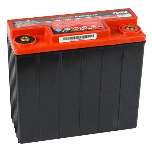HAWKER MOTORRADBATTERIE PC 680 -707.70.272 - passend für: BMW R80 - R100 - R850 -R1100 - R1150 - siehe Fahrzeugliste - inkl. gesetzlichem Batteriepfand (EUR7,50)!