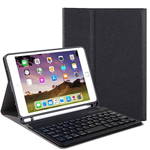 ACHICOO - Funda de Piel sintética con Textura para Teclado táctil para Tablet f/o IP/ad 10.2 (Bluetooth3.0)
