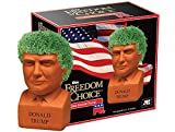 Chia The Original Pet Decorative Pottery Planter, Easy to Do and Fun to Grow, Novelty Gift, Perfect for Any Occasion, Donald Trump