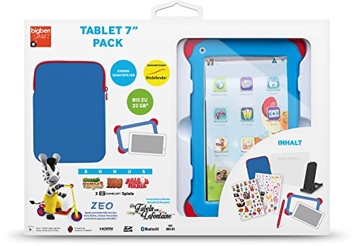 Bigben TA332353 17,8 cm (7 Zoll) Kinder-Tablet (Rockchip ATM7021, 1,2GHz, 1GB RAM, 4GB HDD, Android, Touchscreen) weiß
