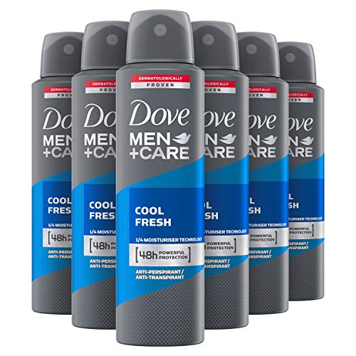 Dove Men+Care Cool Fresh Anti-transpirant Spray 6 x 150 ml Voordeelverpakking