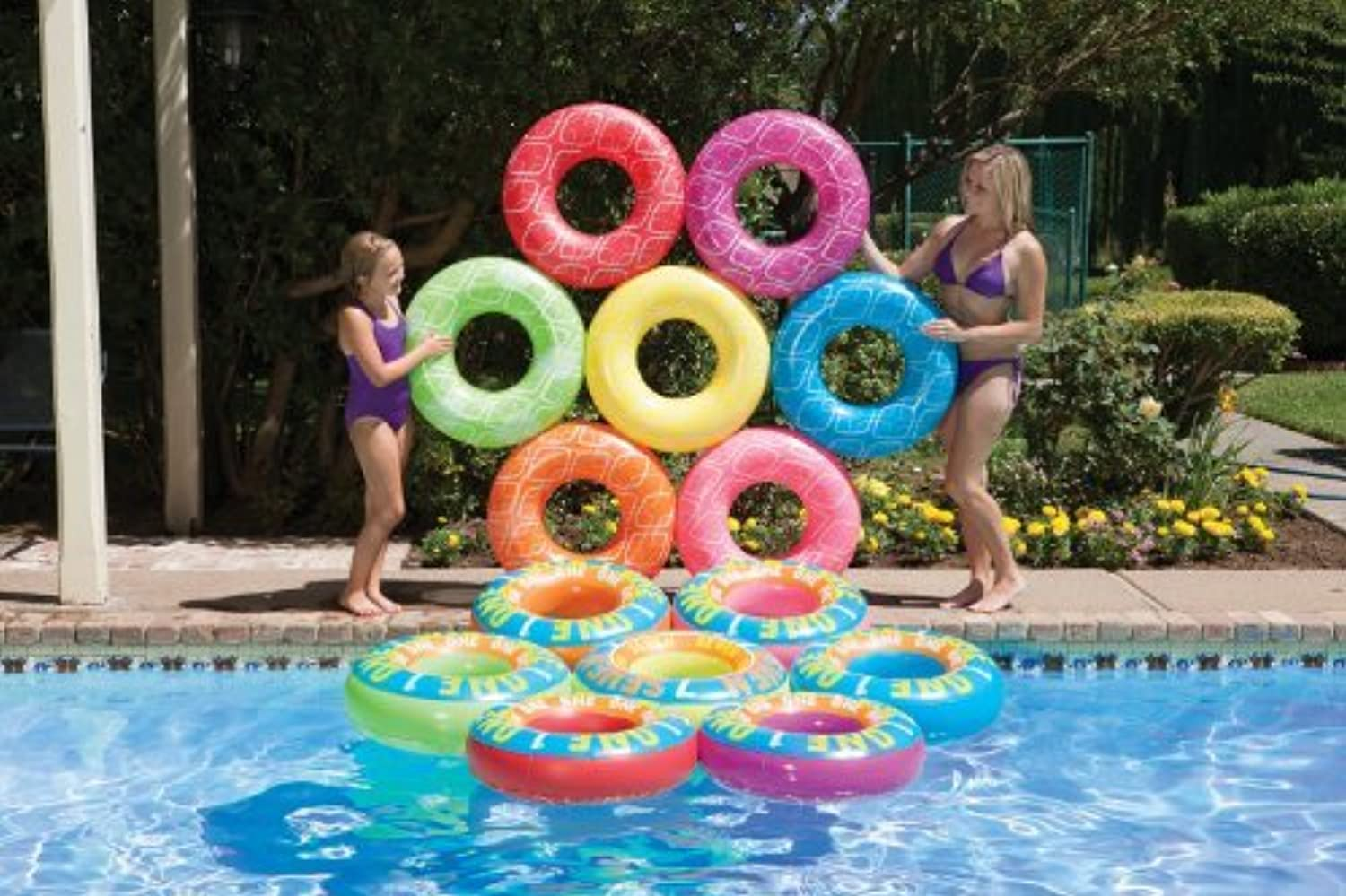 Poolmaster 83671 Ring-A-Ding-Ding Island   Lucky 7 Game by Poolmaster