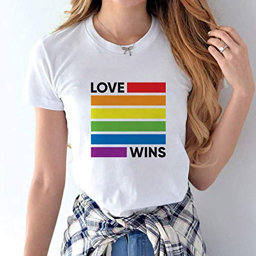 Camiseta manga corta LGTB varios modelos