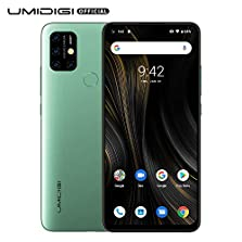 UMIDIGI Power3 Android 10 Smartphone ohne Vertrag günstig 6.53 Zoll FHD+ FullView Display 5G WiFi Handy 4GB+64GB ROM, Global Version, Dual SIM, 48MP, 13MP Kamera NFC (Blau) © Amazon