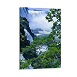 Iguazu Falls Fotografie-Poster, dekoratives Gemälde,