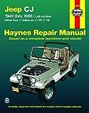 Jeep CJ, Scrambler, Renegade. Laredo & Golden Eagle (49-86) Haynes Repair Manual