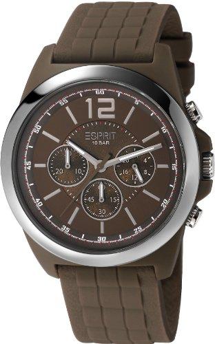 Esprit Hayward - Reloj de Cuarzo para Hombres, Color marrón