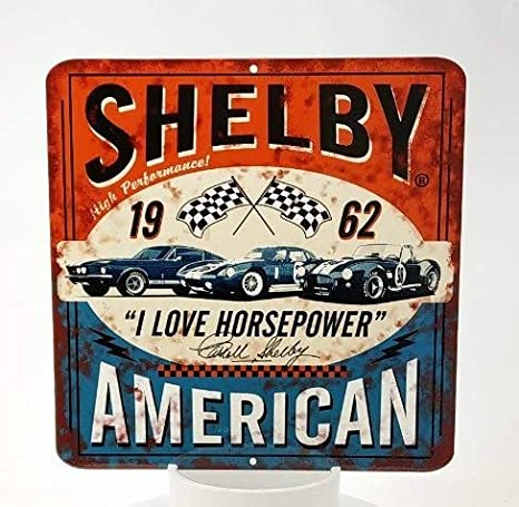 "4/""x 3/"" Shelby Vintage Rustic Racing Heavy Duty Metal MAGNET"