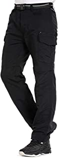 Men's Outdoor Pants Quick Dry Anytime Adventure Convertible Lightweight Hiking Fishing Zip Off Cargo Work Trousers
