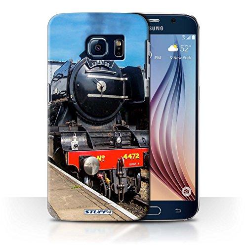 STUFF4 Telefoonhoesje/Hoes voor Samsung Galaxy S6/G920 / Scotsman/Platform Design/Steam Locomotive Collection