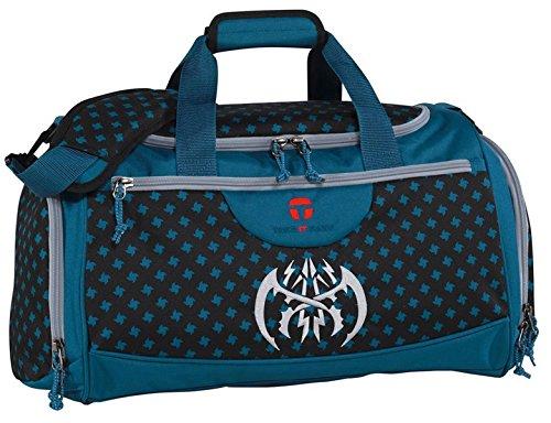 Take It Easy Sporttasche mit Naßfach Schuhfach Fitnesstasche Reisetasche ROM Bowatex