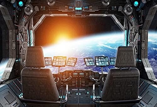 Fondos de fotografía Nave Espacial Planeta Universo Ciencia gabinete Interior Foto Fondos Estudio fotográfico A5 10x10ft / 3x3m