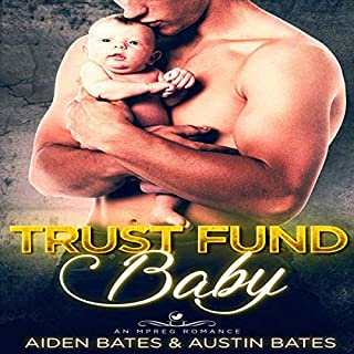 Trust Fund Baby: An Mpreg Romance audiobook cover art
