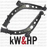 kW&HP KIT 2 PEZZI COPPIA BRACCETTI TRAPEZI OSCILLANTI ANTERIORI LATO DX/SX CINQUECENTO/SEICENTO (KW0001)
