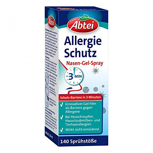 ABTEI Allergie Schutz Nasen-Gel-Spray 20 ml Spray
