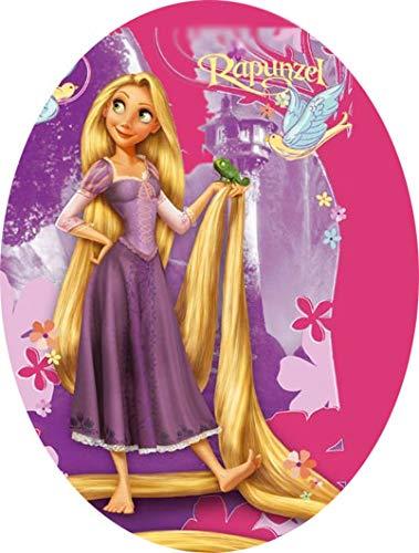 Uovo di Pasqua ARTIGIANALE cioccolato al latte Principessa Rapunzel con SORPRESA puoi anche personalizzare l'uovo a tuo piacimento! (350 gr)