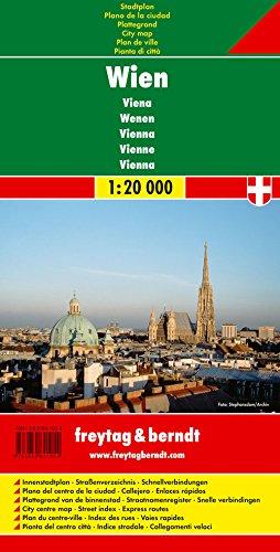 Wien, Stadtplan 1:20.000: Stadskaart klein 1:20 000 (freytag & berndt Stadtpläne)