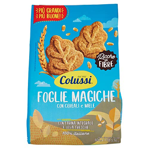 Colussi Frollini Foglie Magiche - Pacco da 600 gr