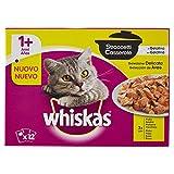 Whiskas Casserole Multipack Bolsitas de Comida Húmeda para Gatos Adultos Selección Aves (12 sobres x 85g)