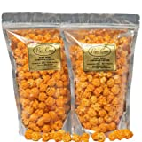 Pops Corn - GOURMET CHEDDAR CHEESE POPCORN - 2 PACK! FRESH & DELICIOUS-8 oz total-America's Finest Flavored Popcorn…