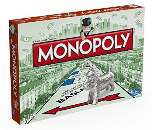 Preisvergleich Produktbild Hasbro Spiele 00009EA4 - Monopoly Classic (türkische Version)