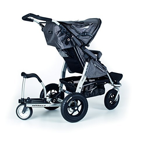 Trends For Kids Multiboard Stroller Ride on Board with Seat, Black (Discontinued by Manufacturer) by TFK Trends for Kids
