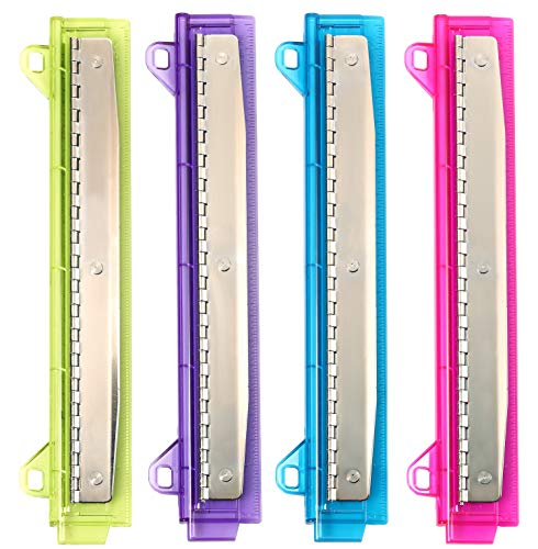 Bostitch Ring Binder 3 Hole Punch, 5 Sheets, Assorted Colors (RBHP-4C)
