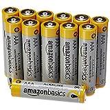 Confezione di 12 batterie alcaline AAA (LR03) da 1,5 V I componenti anti-corrosione migliorati e la nuova composizione allo zinco contribuiscono a una durata di conservazione fissa di 10 anni, senza perdite Pensate per offrire prestazioni affidabili ...