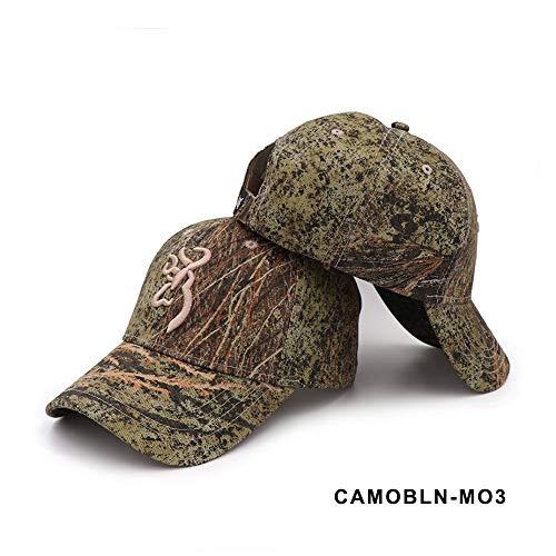 Greatideal Kampierende Jagd-Tarnung-Kappe Im Freien, Baumwollmaterial-Fischen-Kappen Für Die Jagd des Kampierens (05)