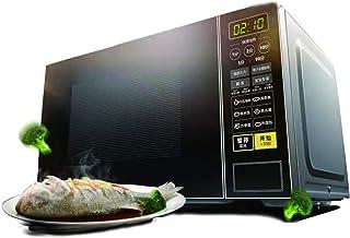 WONOOS Horno microondas Giratorio, 700w, Varios menús Inteligentes, esterilización y desodorización electrónica, diseño Seguro e Impermeable, fácil de Limpiar