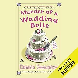 Murder of a Wedding Belle audiobook cover art
