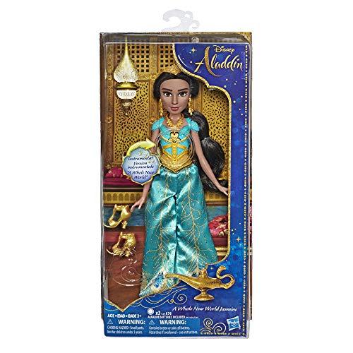 Hasbro Disney prinsessen E5442EU4 Disney Prinzessin tovermelodie jasmijn, pop, multicolor