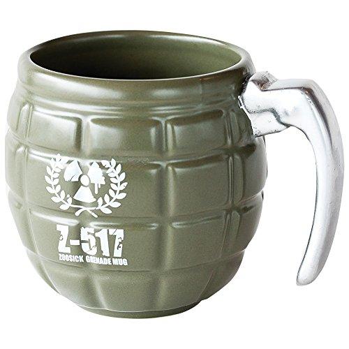 Grenade Shaped Coffee Mug