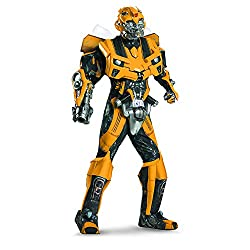 Disguise Men's Hasbro Age Of Extinction Bumblebee Theatrical with Plus 3D