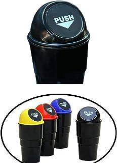 Cdet Coche Mini Basura Lindo Creativo de la Manera con la Basura de la Basura del Coche Mini en el Bolso de la Basura del Coche para el almacenaje Azul