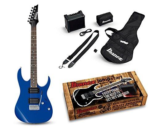 Ibanez ijrg220z Jumpstart Guitarra Eléctrica Pack (Azul)