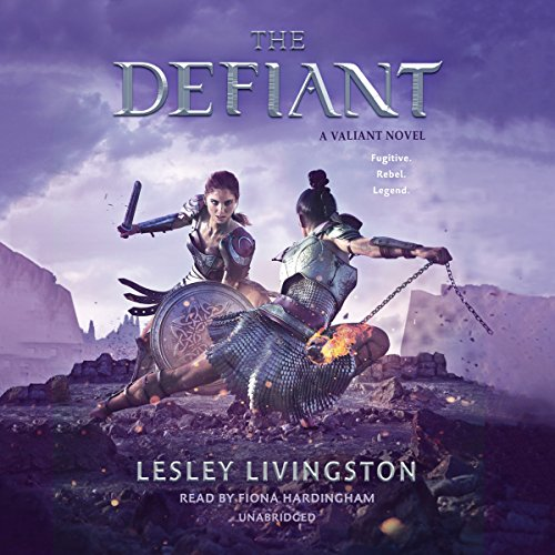 The Defiant audiobook cover art