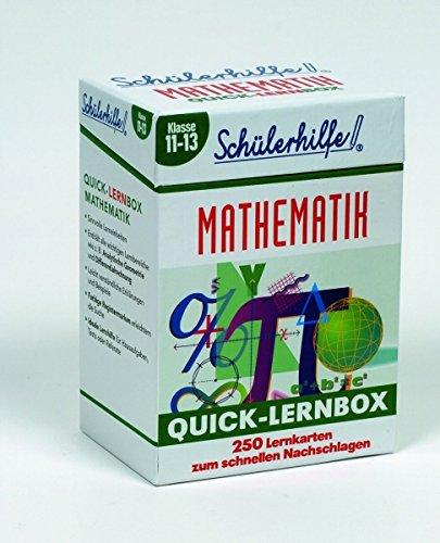 Quick-Lernbox Mathematik, Klasse 11-13